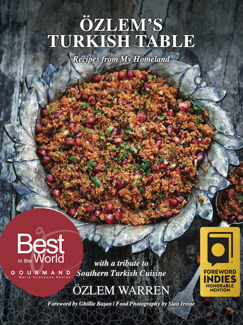 Özlem's Turkish Table hardback – SIGNED with 25% OFF