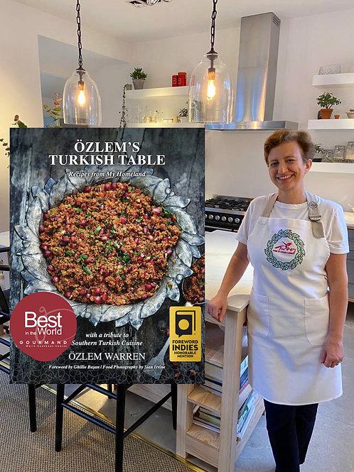Özlem's Turkish Table bundle - hardback SIGNED with 25% OFF + apron