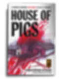 "House of Pigs.  2013 IndieFab Finalist Horror A world where nothing is as it seems  SURREY LIFE magazine: ""This brain-twister of a novel, by horror author Christopher Ritchie, has won plenty of acclaim and deservedly so as he takes the reader on a frightening, disturbing journey that tests the imagination, pushing it beyond the limits of 'normal'.  When officer Joe Gullidge is sent on a routine police call, the situation rapidly descends into a sequence of horrifically unsettling events that eat into the very depths of his soul. As 'Gully' is dragged into a reluctant search for the truth, his conscious mind struggles to separate reality from the suggestion of a parallel world. Is Gully's journey a metaphor for the deeper reality of an inescapable past - or is the explanation more straightforward than it initially appears?  House of Pigs is a grippingly surreal novel with an edgy narrative and visual touches reminiscent of Stephen King's The Shining."""
