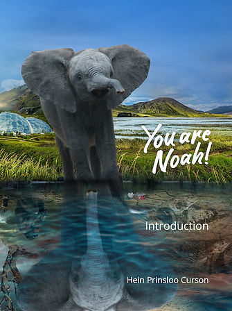 EXTINCTION. You are Noah sees you taking a central role in saving endangered species within their environments. The journey begins with this book's tie-in to TV series Noah's Ark, scheduled in Jan 2021, as TV cameras track the conception, design and build of the world's most technically advanced safari park.