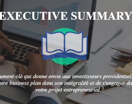Financement : 5 Éléments-Clés pour rédiger un Executive Summary Gagnant