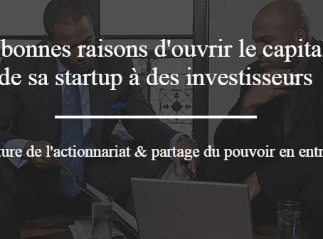 5 bonnes raisons d'ouvrir le capital de sa startup à des business angels