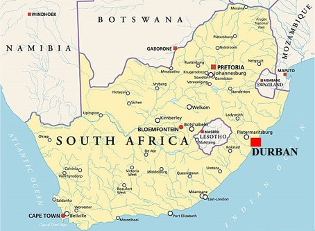 Voyage d'Affaires à Durban : Guide pratique   Afrique du Sud
