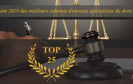 Classement 2019 du magazine LEX4   : Quels sont les meilleurs cabinets d'avocats du droit OHADA