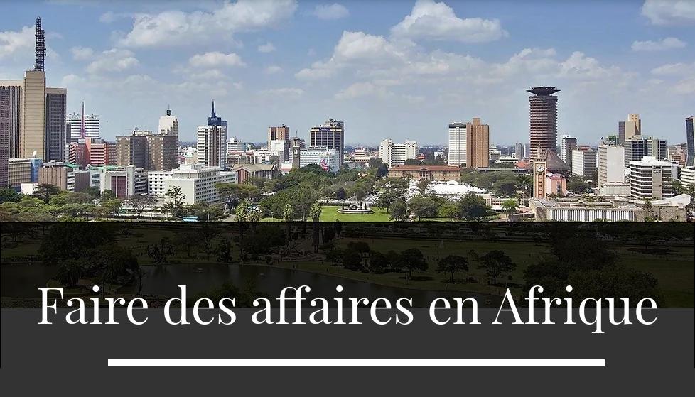 Faire des affaires en Afrique