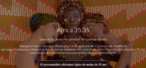 Prix Africa 35.35 : un concours pour faire émerger l'élite africaine de demain