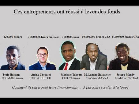 Ces entrepreneurs ont réussi à lever des fonds
