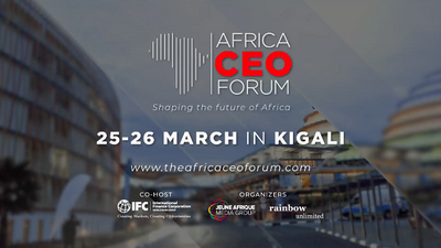 World's Top Business Leaders to gather in Kigali   Africa CEO Forum   March 25-26, 2019