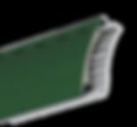 Avvolgibile Duero in alluminio profilato coibentato e pvc nel lato interno della stecca