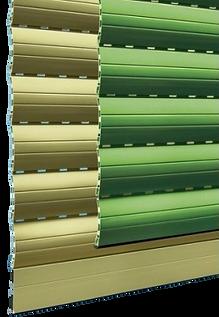 Avvolgibile in PVC con fibra di vetro profilo Memory