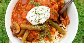 Green Bean Stew - Lebanese Inspired