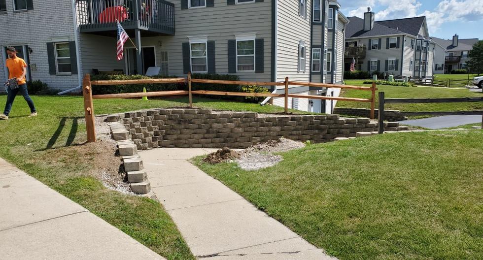 Wall reinstallation