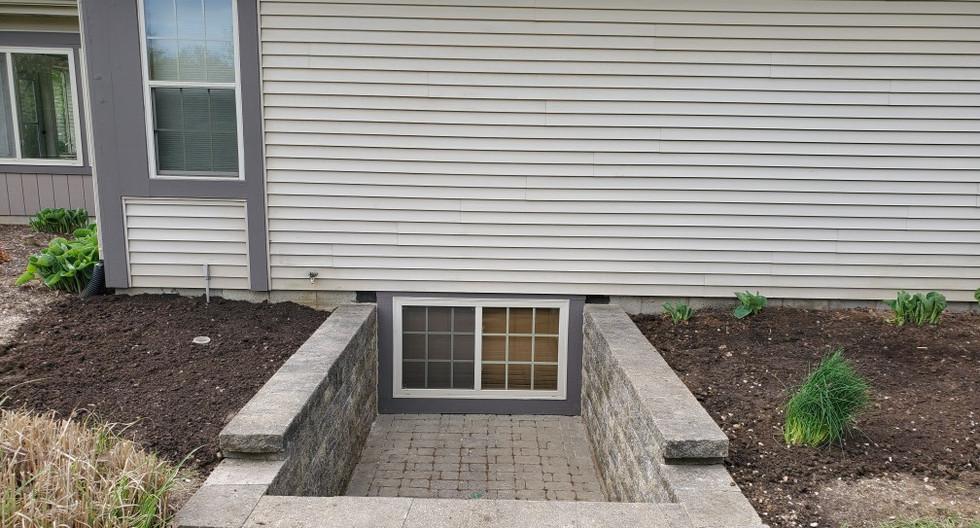 Window well remodel