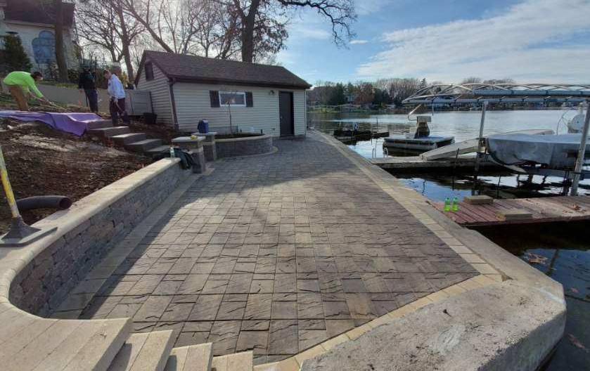 New Lakefront Patio