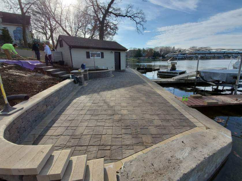 New Lakefront Patio