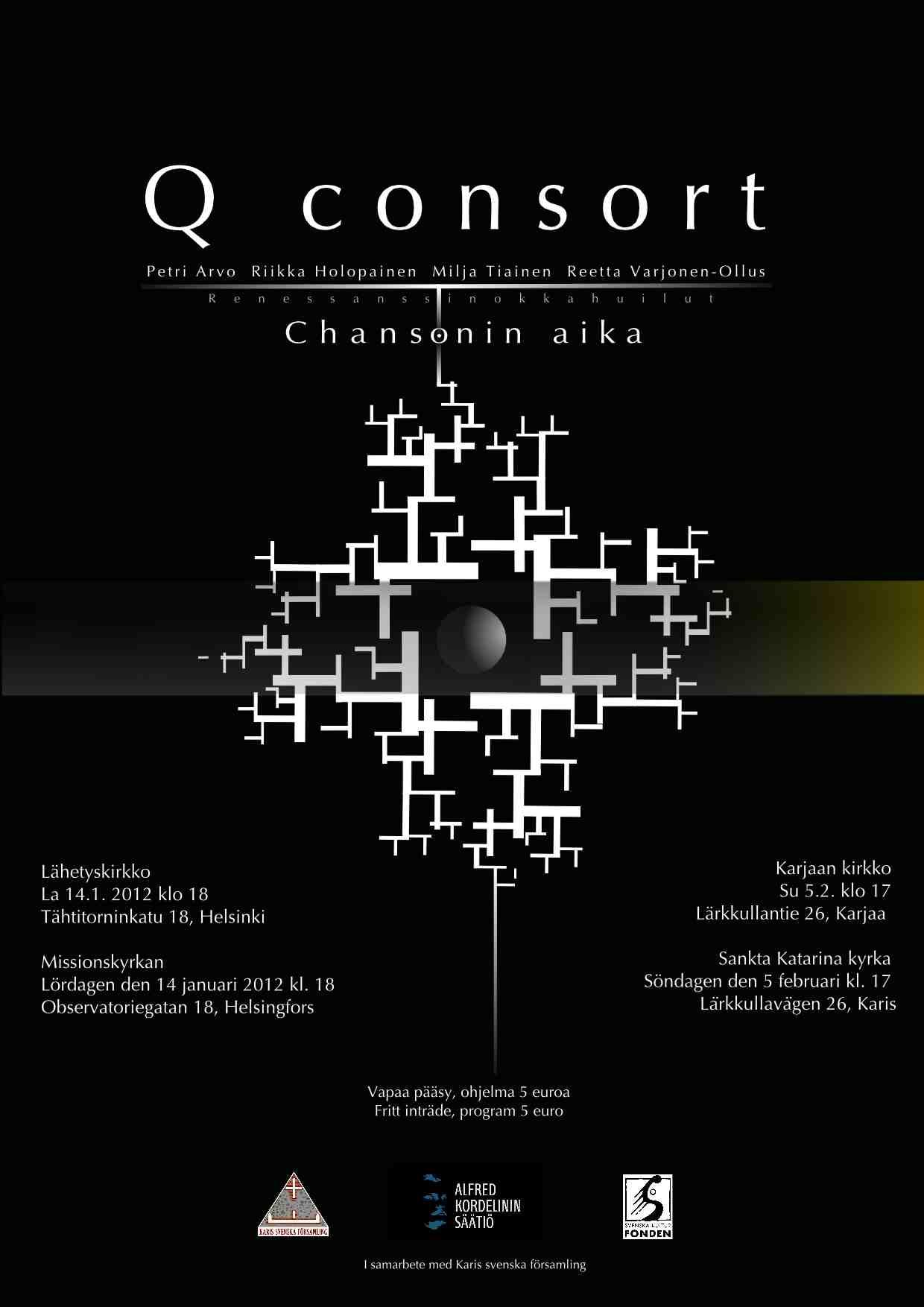 2012 Q consort poster