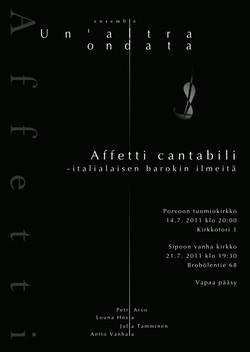 2011 Poster Un'altra ondata