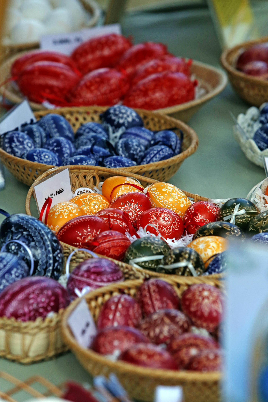 Húsvéti tojások Hollókőn