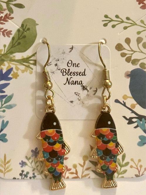 Koi Fish Earrings