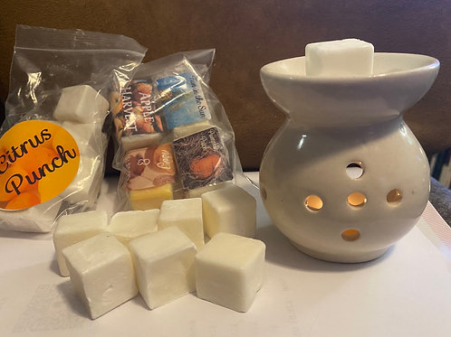 Wax Melts 9-Pack With Warmer