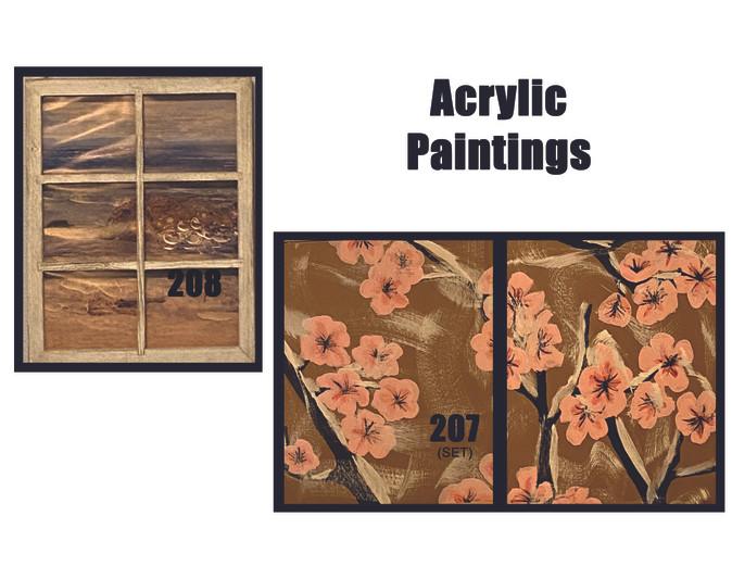 Acrylics 207 & 208