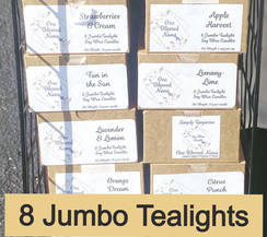 8 Jumbo Tealights