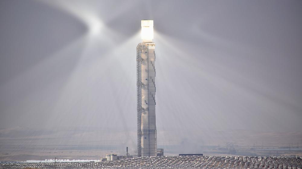 המגדל לאנרגיה סולרית באשלים