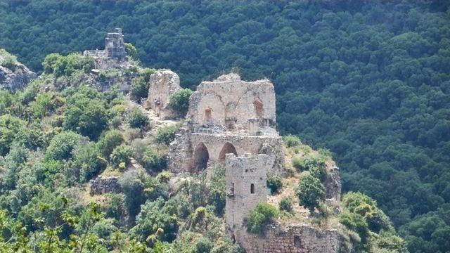מבצר עתיק בלב היער