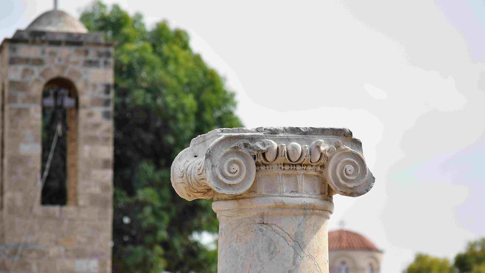 עתיקות בעיר פאפוס , קפריסין
