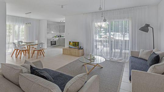 מראה דירה במלון הדירות