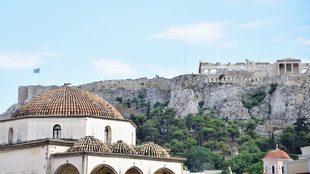 הר האקרופוליס באתונה