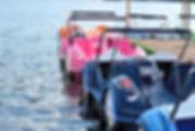 סירות פדאלים בצפון פולין