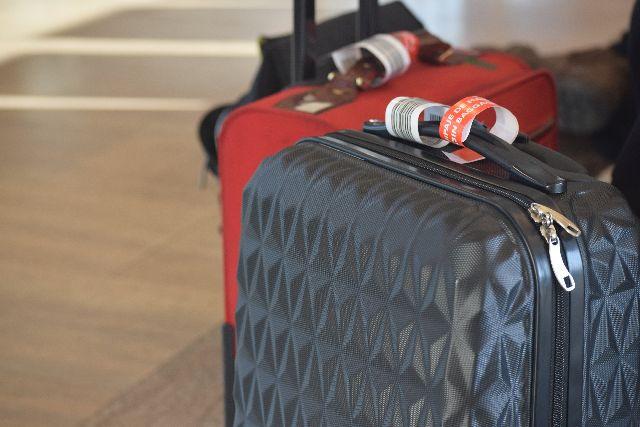 מזוודות, bag, luggage , bags, suitcase, red, air port