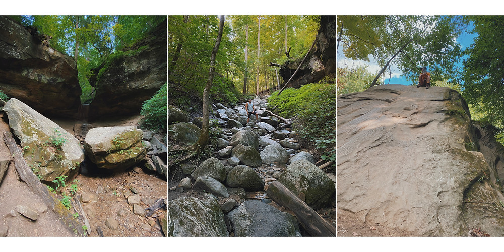 turkey run state park indiana hiking camping
