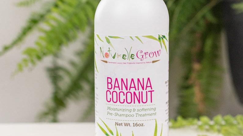 Pre Hair Shampoo Banana Coconut