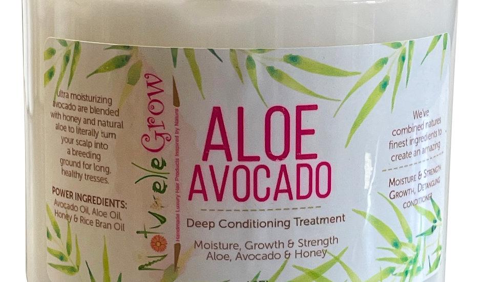 Aloe & Avocado -- Hair Growth Deep Hair Conditioner