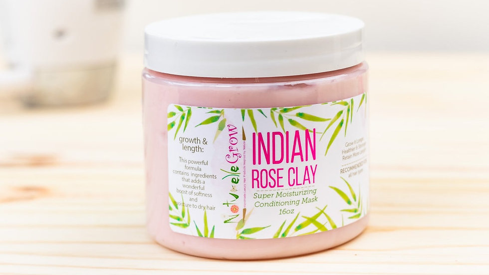 Indian Rose Clay Deep Conditioner