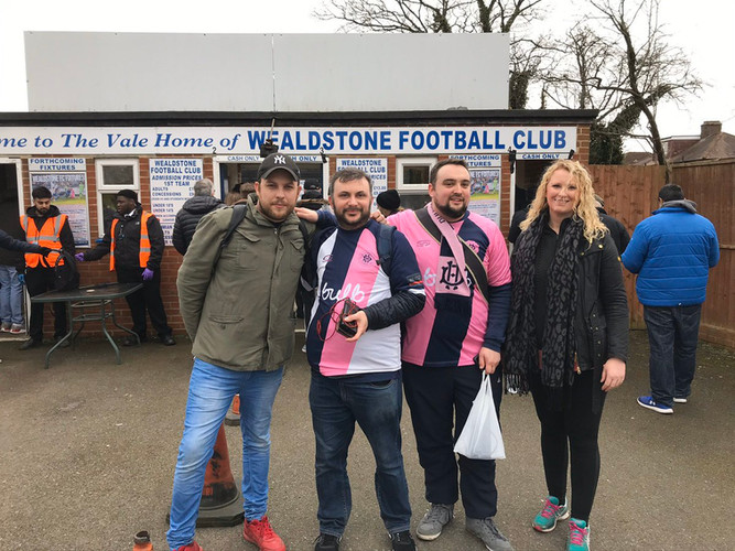 DHFC to Wealdstone FC