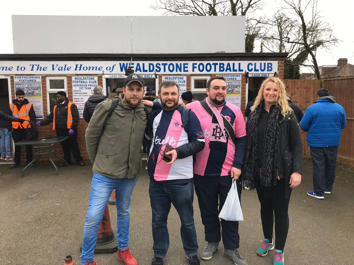 DHFC to Wealdstone FC