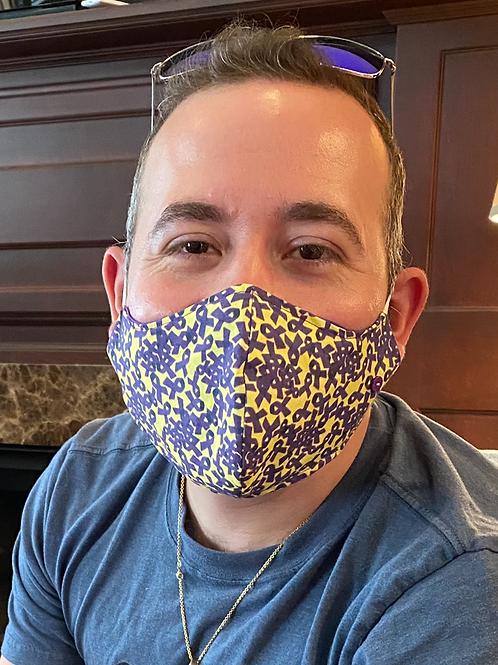 Alzheimer's Face mask (style #1)