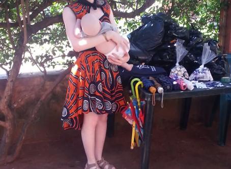 Kanimambo & APCC   Entrega de roupa de protecção em Sofala
