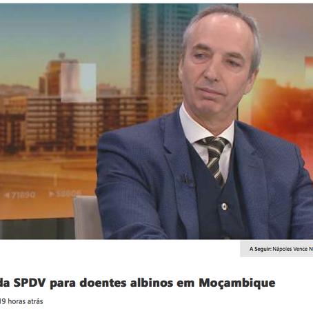 SIC Notícias | Entrevista ao Prof. Doutor Miguel Peres Correia. SPVD & KNMB