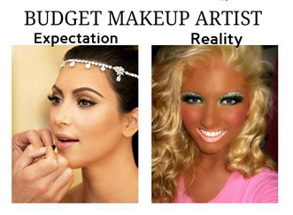 Hiring a Budget MUA vs Experienced Professional MUA, What are you REALLY Paying for?!