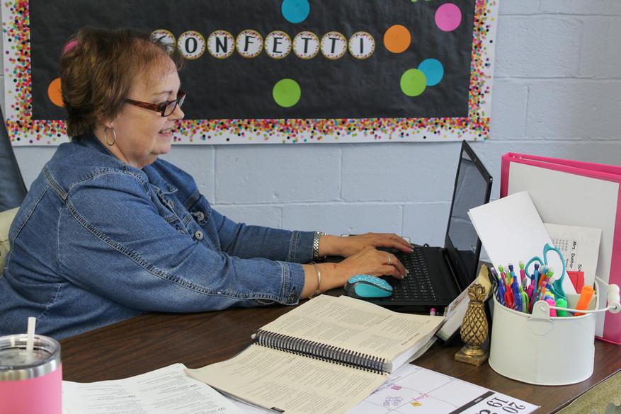 ABEKA AACS ODACS Teacher Working