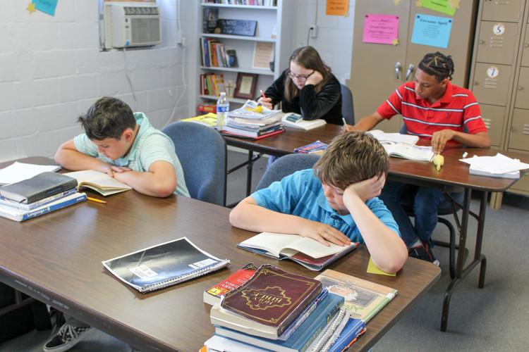 ABEKA AACS ODACS Student Working