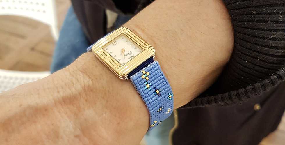 bracelet-montre-laniere-fleurs-bleu-milou-et-anouch