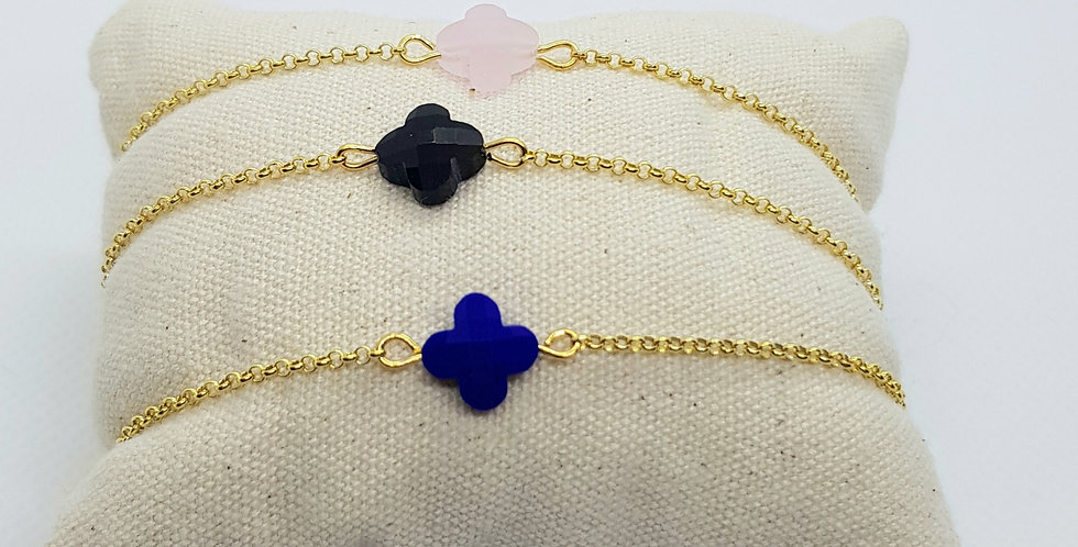 bracelet-dore-trefle