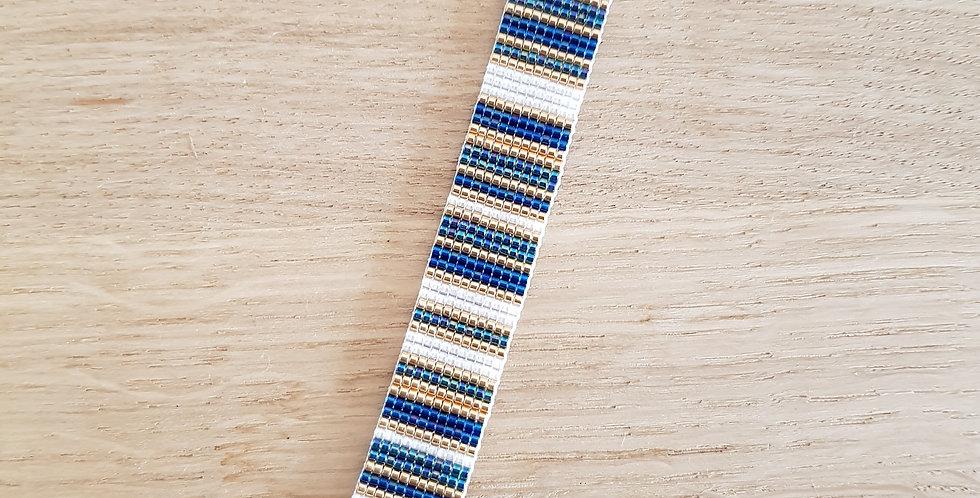 Bracelet montre lanière - collection Bayadère