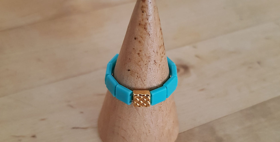 Bague Tila turquoise
