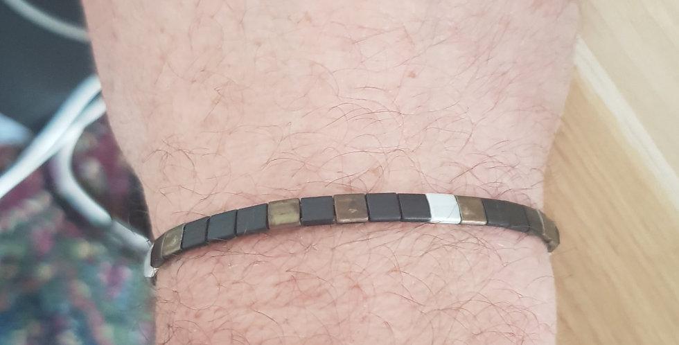 Bracelet Tila Homme Brown